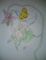 Tinkerbell Commission by KayceeMuffins
