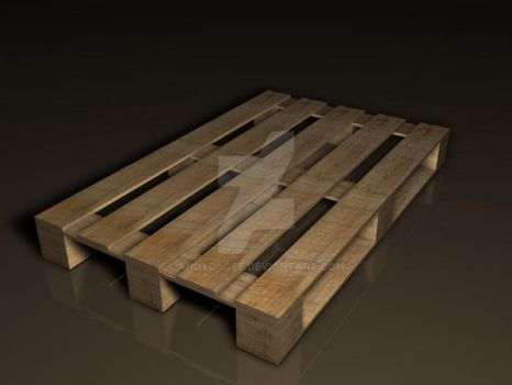 Wooden Pallet by AndyDaGee