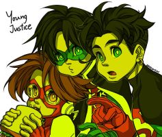 young justice by jojody
