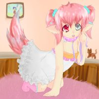 kawaii and fluffy - contest entry by sawarineko
