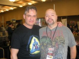 ME AND NORM BREYFOGLE AT AKRON COMICON 2012 by FanBoy67