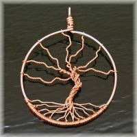 Tree Of Life Pendant no.1 by MajorTommy