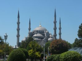 The Blue Mosque by Magdyas