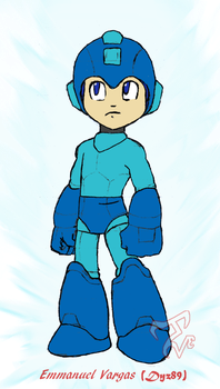 Megaman - The blue bomber by Dyz-69