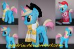 OC Picturesque plush by agatrix
