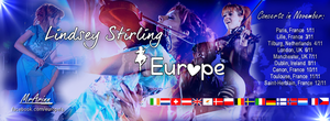 Lindsey Stirling Europe Desing by MrArinn