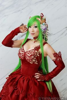C.C. - Code Geass cosplay by yayacosplay
