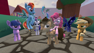 SFM_Ponyville V.1 *DOWNLOAD* by Sarcastic-Brony