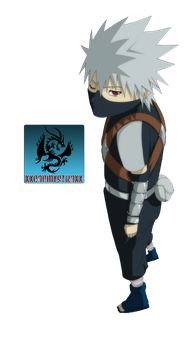 Young Kakashi Render by CartoonPerson