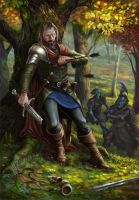 Boromir's End by midscrawl