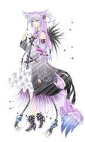 Black flower - adoptable auction - CLOSED by LotusLumino