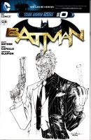 TwoFace - Batman #0  by SpiderGuile