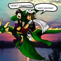 Wizard101 - I DONT CARE! by HesperCambrie
