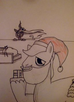 The Changling Who Stole Christmas (Front) by EnduringDoodler