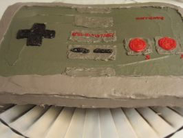 Nintendo Controller Cake 4 by pateachoux