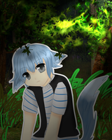 .:::.Wolf in the forest.:::. by NadeshikoLove1