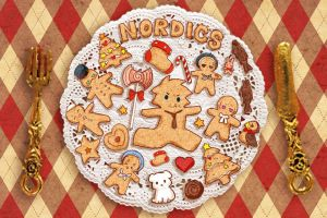 Gingerbread men by inpninqni