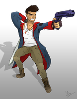 Devil May Cry - Dante Vector by YeshuDave029