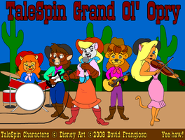 TaleSpin Grand Ol' Opry by tpirman1982