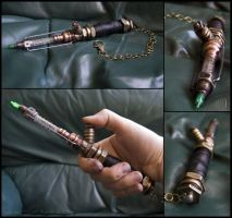 Steampunk Screwdriver by Launchycat