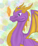 Spyro of Harmony by Caramel-lioness