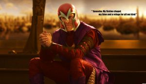 Magneto of Genosha by Melciah1791