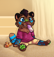 .:CO:. Chillin' by SpunkyRacoon
