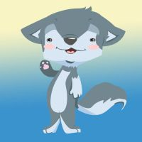 'what's up?'- vector wolf. by kkcooly