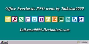 Office Neoclassic PNG icons by Taiketsu0099 by Taiketsu0099
