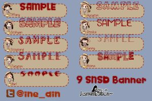 SNSD BABY-BABY [BANNER] by JasminEdition
