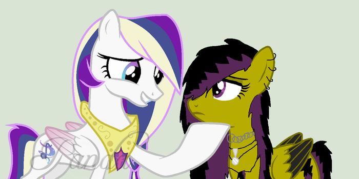 Collab with Euphony by wolflover4life008