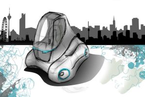SketchBattle concept vehicle 1 by Straxer