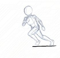 Please Vote! Running Animation by ApocryphionXII