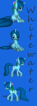 Whitewater 3D FiM-style by VioletWhirlwind