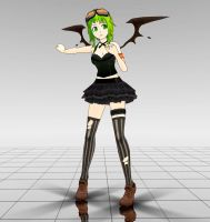 Zeze Gothic Gumi MMD download by Reon046