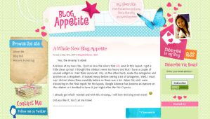 Blog Appetite for Wordpress by arwenita
