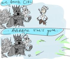 The Witcher 3, doodles 25 by Ayej
