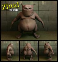 Zhud Monster Texturized by Doppelgangers
