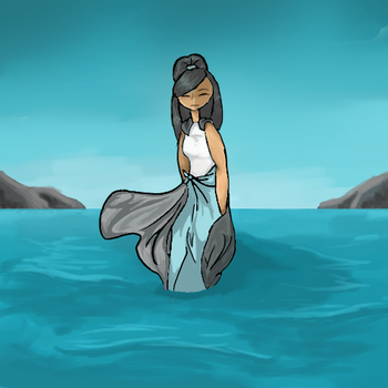 I've been standing at the edge of the water.... by an0nym0usW01f
