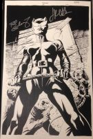 Comic Art Showcase-Signed Catwoman #25 Cover by TheGraphicNovelist