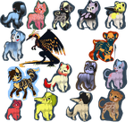 20 point adoptables OPEN by creative-adoptions