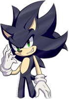 Sonic oscuro by Myly14