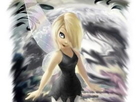 Gothic Tinkerbell by DPBenson