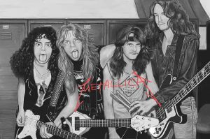 METALLICA si painter by geum-ja1971