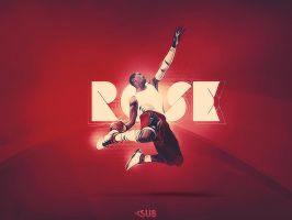 Derrick Rose by daWIIZ