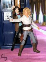 The Doctor and River Song by fourth-heir