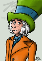Mad Hatter sketch by Vega-Three