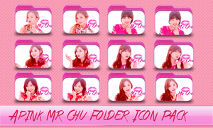 Apink Mr. Chu Folder Icon Pack by SNSDraimakim