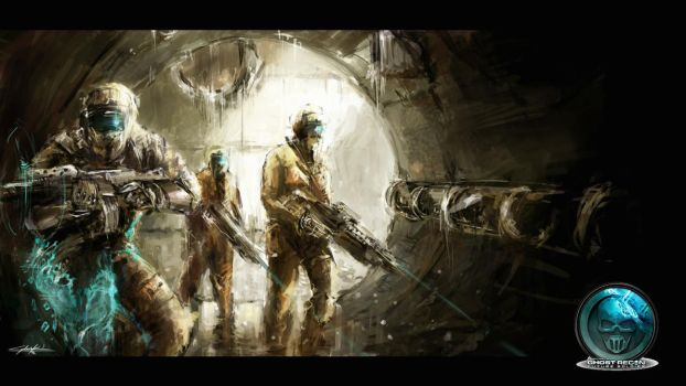 ghost recon wallpaper by VitoSs