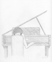 Piano Man by Leucrotta